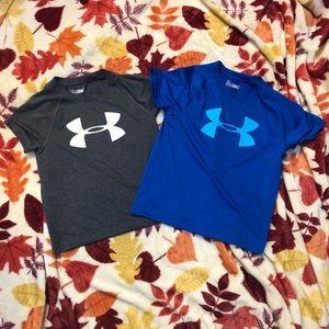Under Armour heat gear short sleeve shirts